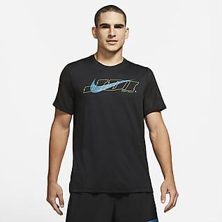 Nike Sport Clash Trainingstop met korte mouwen voor heren