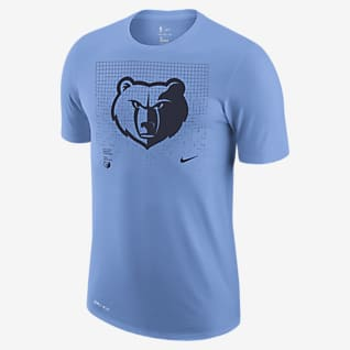 Memphis Grizzlies Logo Grid Men's Nike Dri-FIT NBA T-Shirt