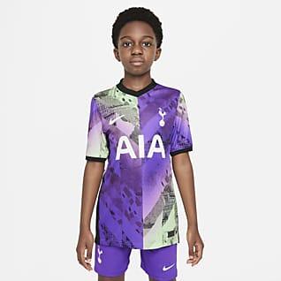 Tottenham Hotspur 2021/22 Stadium Third Nike Dri-FIT Fußballtrikot für ältere Kinder