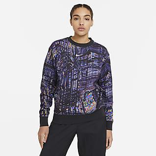 Nike Sportswear Tanz-Fleece-Rundhalsshirt für Damen