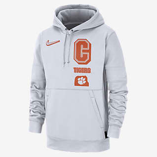 Nike College Therma Local (Clemson) Men's Pullover Hoodie