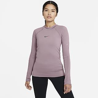 Nike Run Division 女款機能針織跑步上衣