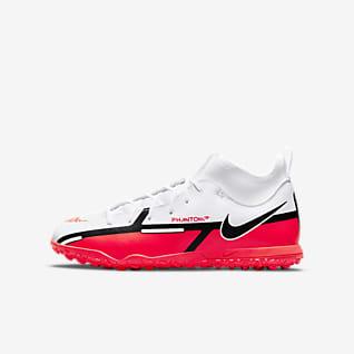 Nike Jr. Phantom GT2 Club Dynamic Fit TF Calzado de fútbol para pasto sintético (turf) para niños talla pequeña/grande