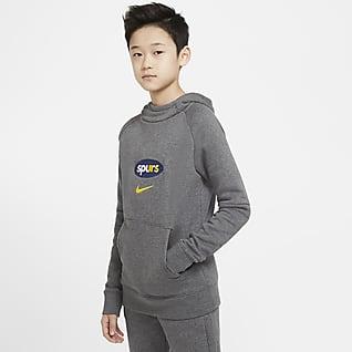 Tottenham Hotspur Fleece Genç Çocuk Kapüşonlu Futbol Sweatshirt'ü