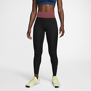 Nike One Luxe Γυναικείο κολάν μεσαίου ύψους