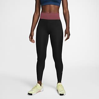 Nike One Luxe Leggings med medelhög midja för kvinnor