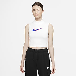 Nike Sportswear Linne med ståkrage för kvinnor