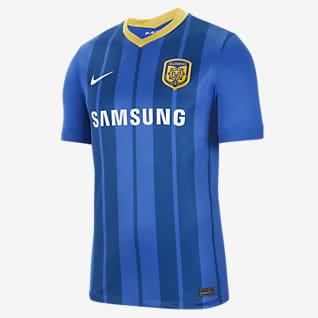 Jiangsu Suning F.C. 2020/21 Stadium Home Men's Football Shirt