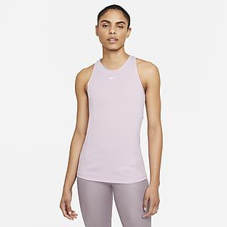Nike Pro Tanktop van mesh voor dames