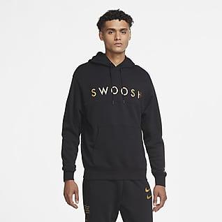 Nike Sportswear Swoosh Kapucnis, belebújós férfipulóver