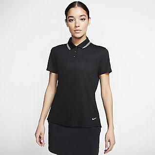 Nike Dri-FIT Victory Golfpikétröja för kvinnor