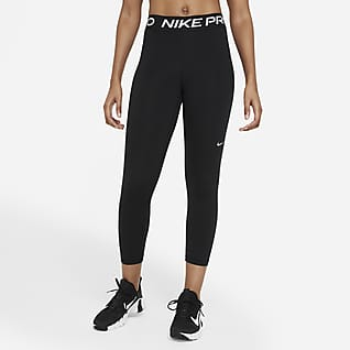 Nike Pro 365 Γυναικείο κολάν crop μεσαίου ύψους