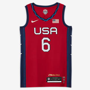 Nike Team USA (Road) Camiseta de básquetbol para mujer