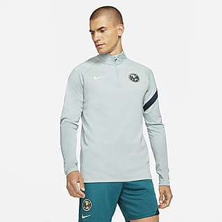 Club América Academy Pro Camiseta de entrenamiento de fútbol para hombre