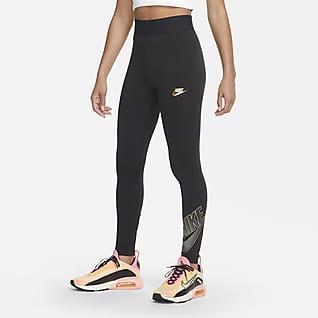 Nike Sportswear Club Damen-Leggings mit hohem Bund