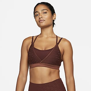 Nike Dri-FIT Indy Icon Clash Strappy 女子低强度支撑衬垫运动内衣