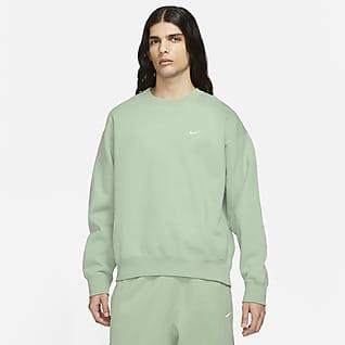 NikeLab Fleeceshirt met ronde hals