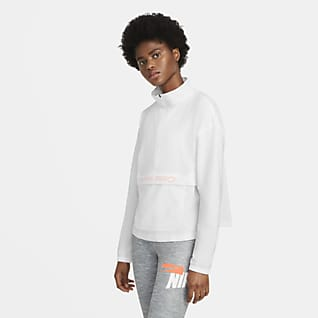 Nike Pro Damska pakowana bluza z tkaniny