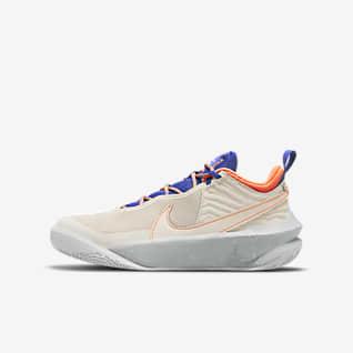 Nike Team Hustle D 10 SE Big Kids' Basketball Shoes