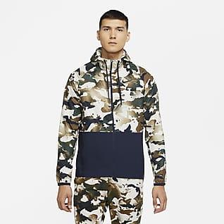 Nike Pro Flex Vent Men's Full-Zip Camo Jacket