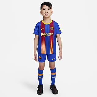 F.C. Barcelona 2020/21 Younger Kids' Football Kit