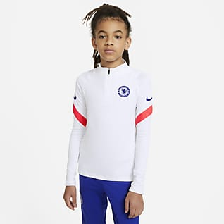 Chelsea F.C. Strike Older Kids' Football Drill Top