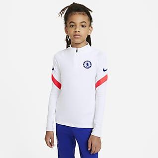 Chelsea FC Strike Treningowa koszulka piłkarska dla dużych dzieci