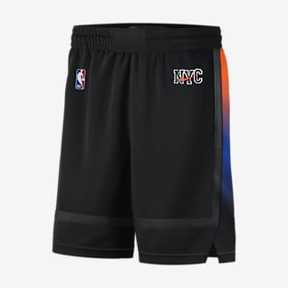 New York Knicks City Edition 2020 Nike NBA Swingman-shorts til herre