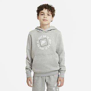 Nike Sportswear JDI Sudadera con capucha para niño talla grande
