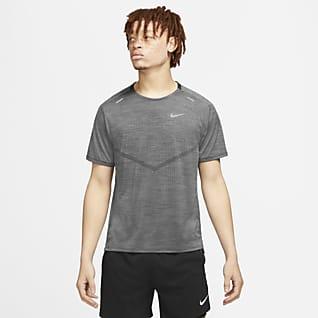 Nike Dri-FIT ADV Techknit Ultra Kısa Kollu Erkek Koşu Üstü