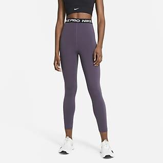 Nike Pro 365 Leggings i 7/8-längd med hög midja för kivnnor