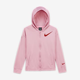 Nike Therma Big Kids' (Girls') Full-Zip Hoodie