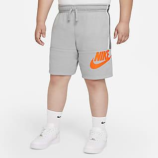 Nike Sportswear Amplify Shorts de French Terry para niño talla grande (talla extendida)