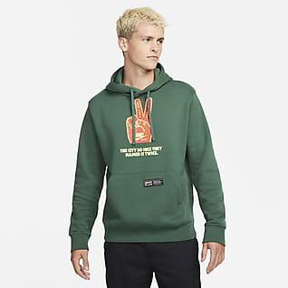 Nike NYC Club Fleece Sudadera con gorro sin cierre para hombre