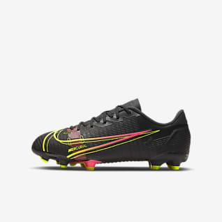 Nike Jr. Mercurial Vapor 14 Academy FG/MG Ποδοσφαιρικό παπούτσι για διαφορετικές επιφάνειες για μικρά/μεγάλα παιδιά