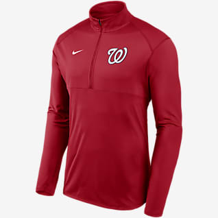 Nike Dri-FIT Element Performance (MLB Washington Nationals) Men's 1/2-Zip Pullover