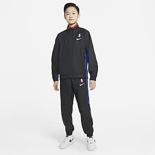 Team 31 Courtside Tepláková souprava Nike NBA pro větší děti (chlapce)