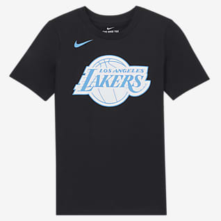 Los Angeles Lakers City Edition Nike NBA Logo-T-shirt til store børn