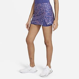 NikeCourt Victory Falda de tenis con estampado - Mujer