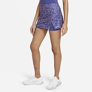 NikeCourt Victory Damska spódnica z nadrukiem do tenisa