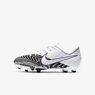 Nike Jr. Mercurial Vapor 13 Academy MDS MG รองเท้าสตั๊ดฟุตบอลเด็กเล็ก/โตสำหรับพื้นหลายประเภท
