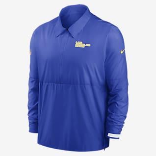 Nike Coach (NFL Los Angeles Rams) Men's 1/2-Zip Jacket