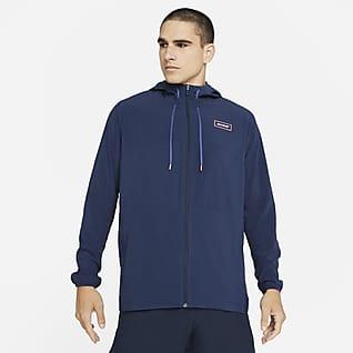 Nike Sport Clash Tam Boy Fermuarlı Erkek Antrenman Ceketi