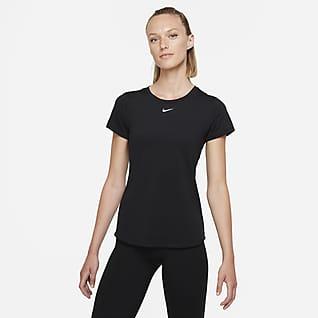 Nike Dri-FIT One Luxe Women's Slim Fit Short-Sleeve Top