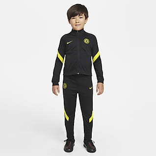 Chelsea FC Strike Футбольный костюм для дошкольников Nike Dri-FIT