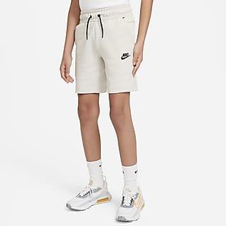 Nike Sportswear Tech Fleece Σορτς για μεγάλα αγόρια