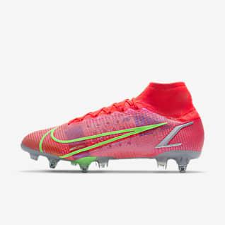 Nike Mercurial Superfly 8 Elite SG-Pro AC Scarpa da calcio per terreni morbidi