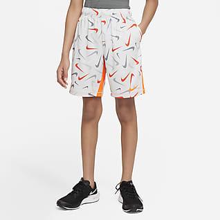 Nike Dri-FIT Treningsshorts til store barn (gutt)