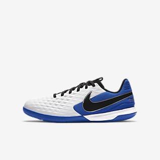 Nike Jr. Tiempo Legend 8 Academy IC Fußballschuh für Hallen- und Hartplätze für jüngere/ältere Kinder