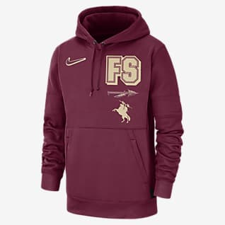 Nike College Therma Local (Florida State) Men's Pullover Hoodie